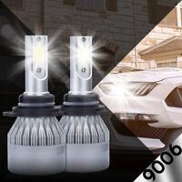 XENTEC LED HID Headlight kit 9006 White for 2002-2009 Chevrolet Trailblazer
