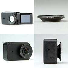 Leather Case Black 4K 4K Universal Compatible Action Camera Yi Lite