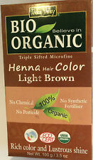 Indus Valley 103ml Henna Hair Color - Light Brown