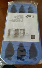 New listing Lekue Penguin Ice Cube Tray, Blue, Silicone