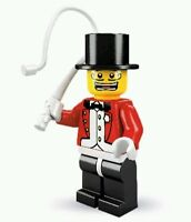 LEGO Collectible Minifigure Series 2 Ringmaster NO base plate Circus master