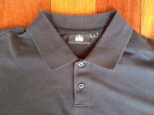 BMW Brand Polo Style Navy Blue Shirt. XL. Classy W/Emboidered BMW Logo On Sleeve