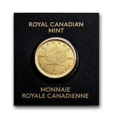 CANADA Maple Leaf 50 Cent  1 gramme or 2021