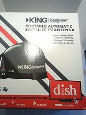 KING TAILGATER DISH PORTABLE AUTOMATIC SATELLITE TV ANTENNA VQ4500. NEW