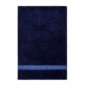 Versace Home Dark Blue Face Towel