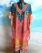 Kaftan Kaftan Dress One Size New Beach And Summer Wear  Plus Swarovski Crystals