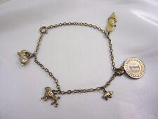 Antikes vergoldetes Armband Bettelarmband Deutsches Reich um 1930