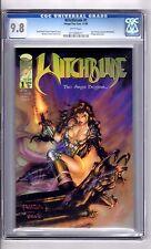Witchblade #1 9.8 CGC WP 'Sara..Pezzini..WITCHBLADE'!  Turner C&A! Wohl Story!
