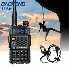 BAOFENG F8+ III Two Way Ham Radio Tri-Band FM Walkie Talkie Long Range EU New
