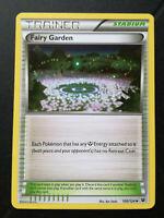Pokemon card Fairy Garden 100/124 Trainer Stadium Mint