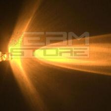 10 pz led gialli 3 mm alta luminosità 6.000 mcd - ART. AL07