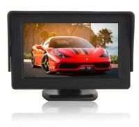 "4.3"" TFT LED Reversing Color Monitor Car RearView Backup Parking Camera Screen"