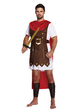 Adult Roman General Costume - Fancy Dress Up Outfit Gladiator Crusader Spartan