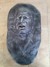 Han solo  in carbonite Life size head bust star wars prop wall decor man cave