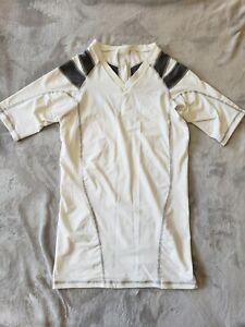 Intelliskin Foundation Large White Back Posture Compression Shirt