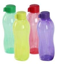 New Tupperware Aqua Safe 1000 ML 32oz Water Bottle Bottles 1000ml Set of 4