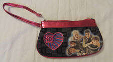 NWOT 1 Direction Wristlet Black W/Pink Trim For All Ages Has Heart & Picture