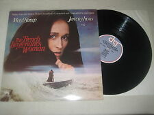 The French Lieutenant's woman   Vinyl LP  Original Filmmusik
