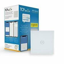 BRAND NEW TCP Smart Wi-Fi Wall Light Switch Voice or Touch UK Elexa & Google