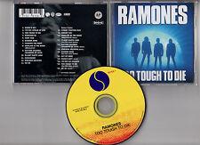"""RAMONES """"Too Tough To Die"""" (CD) 2002"""