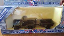 SOLIDO - Jeep US remorque edition limitée 50eme- 4494/21 - BOITE