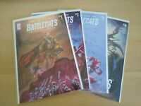 BATTLECATS TALES OF VALDERIA #1-4 MAD CAVE 2020 COMPLETE SET BRAND NEW NM/MT!!!