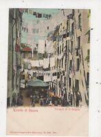 Ricordo Di Genova Trugoli Di S Brigida Italy Vintage U/B Postcard 915a