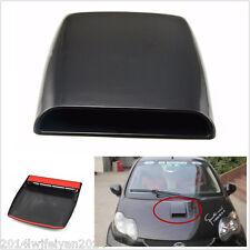 Universal Car SUV Decorative Air Flow Front Hood Scoop Vent Bonnet Cover Black