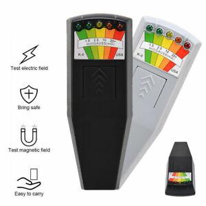 LED EMF Meter Magnetic Field Detector Ghost Hunting Paranormal Equipment Tool