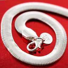 Silver S/F Solid Ladies Snake Design  00006000 Bracelet Bangle Genuine Real 925 Sterling