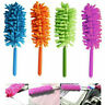 Telescopic Microfiber Feather Duster Extendable Clean Dust Home Office Car Tool