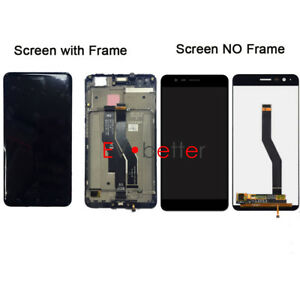 For ASUS ZenFone 3 Zoom Z01HDA ZE553KL LCD Screen Touch Digitizer Display +Frame
