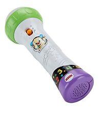 Mattel Fisher-Price Lernspaß Mikrofon Kinderspiele Beste Geschenke Spielzeug NEU