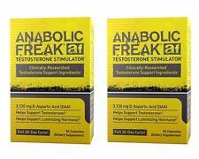 2 X ANABOLIC FREAK 192 c. PHARMA FREAK - INCREASES TESTOSTERONE, BLOCKS ESTROGEN
