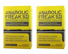 2 x Anabolic Freak 192 C. Pharma FREAK-augmente la testostérone, blocs estrogènes
