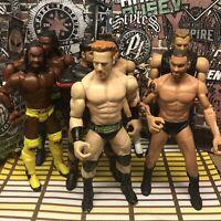 WWE Mattel 7 Figure Lot Flex Force Randy Orton Kofi Kingston Sheamus CM Punk