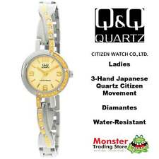 AUSSIE SELLER LADIES BRACELET WATCH CITIZEN MADE 2/TONE GL51-802 WARANTY