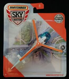 NEW! Matchbox Sky Busters Airbus Helicopters H130 MED-V1 N1 MODEL !