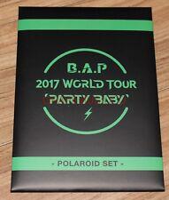 B.A.P BAP 2017 WORLD TOUR PARTY BABY! OFFICIAL GOODS POLAROID PHOTO SET A VER.