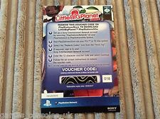 Sony ps vita Little Big Planet télécharger code de bon jeu complet