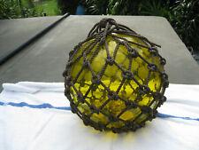 New listing Japanese Glass Fish Floats - Lt Yellow- Sunrise- Large