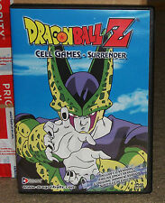 Dragon Ball Z Cell Games Surrender DVD