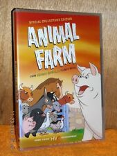 Animal Farm (DVD, 2004) George Orwell classic novel animated NEW political drama
