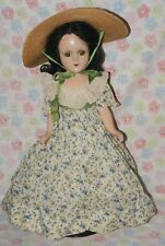 "Gorgeous! Vintage Tagged 18"" Scarlett O'Hara Madame Alexander Composition Doll"