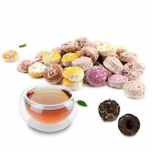 Health Puer Tea Small Mini Cooked Ripe Xiao Tuo Cha Puerh Tea Chinese Tea