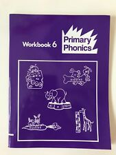 Primary Phonics Workbook 6 by Barbara Makar Grades K-4