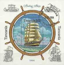 Timbre Bateaux Tanzanie BF289 o lot 10796