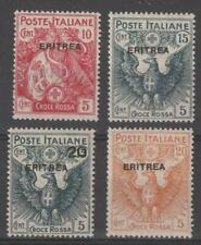 ITALIAN COLONIES ERITREA 1915/16 Red Cross set superb MNH / N5705