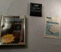 Zaxxon (Colecovision, 1982) By Coleco (Cartridge & Manual) Not Working READ