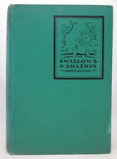 Swallows and Amazons - Arthur Ransome - First Edition, First Printing - HC